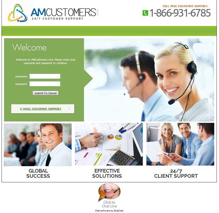 amcustomers.com