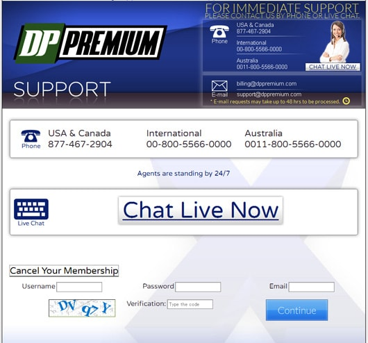 dppremiumサポート