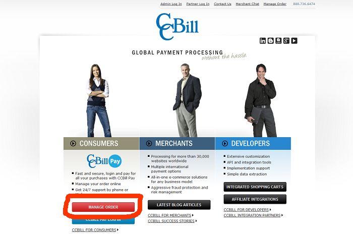 CCBILLオフィシャルサイト