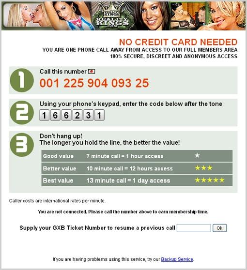 電話での登録方法