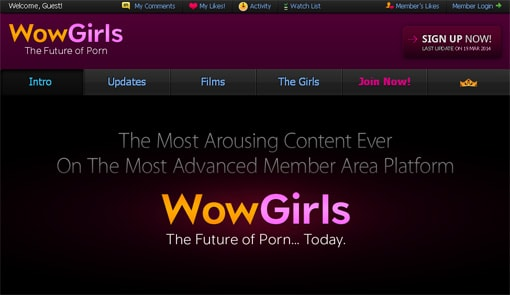 WowGirlsトップページ